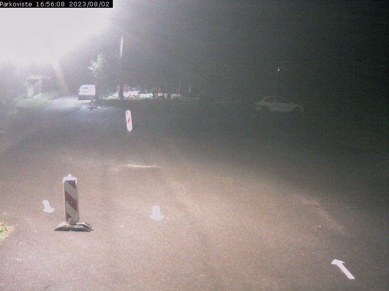Fotografie z webkamery v lyžařském areálu Stupava